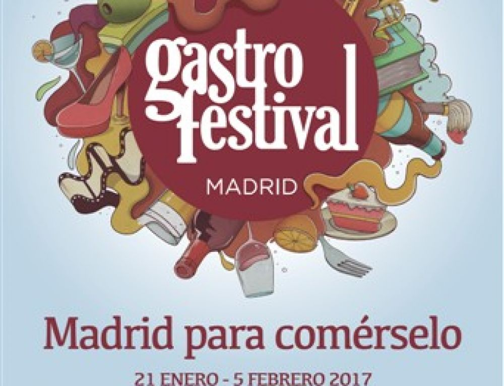 Gastrofestival Madrid 2017 to be held from 21st January to 5th February